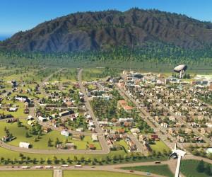 gra na desktop PC, strategia budowy miasta City Skylines - lepsza od simcity ale i bardziej rozbudowana - skomplikowana